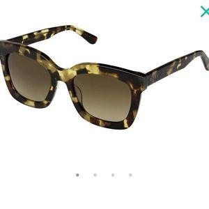 NIB Diff Carson Tortoise Havana Sunglasses